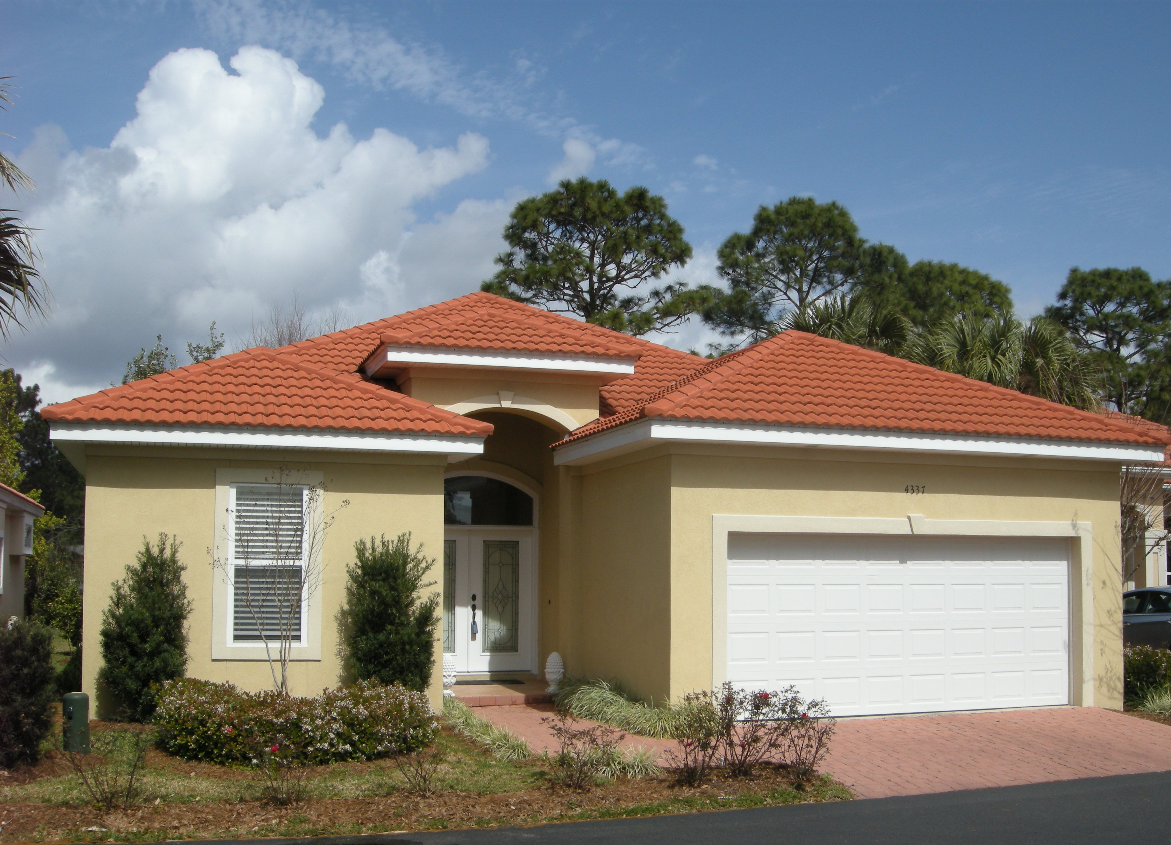 Sunset Beach Bluewater Bay Florida Golf Course Home In