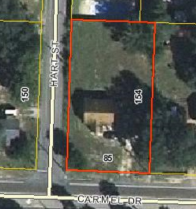 Fort Walton Beach building lot 32548