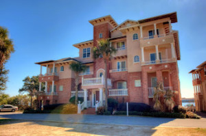 Villa di Mare Fort Walton Beach bay front condo with boat slip