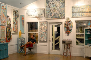 Andy Saczynski art gallery