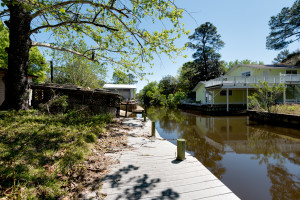 Mack Bayou canal front home