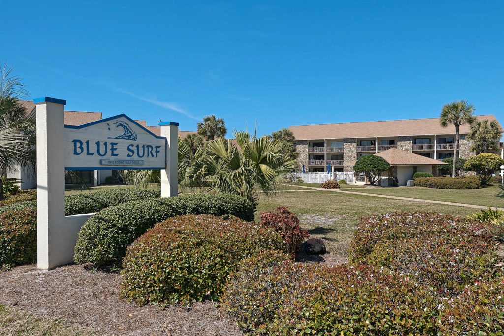 This Lovely Blue Surf Townhome In Miramar Beach Destin Florida Just Sold Small Complex At 2312 Scenic Gulf Drive Is Directly Across From